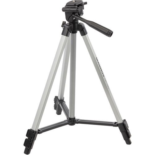 Magnus GP-100 Light-Duty Tripod with Pan Head, Smartphone Adapter, and GoPro Mount