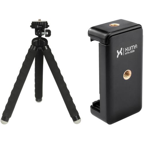 Magnus MaxiGrip Flexible Tripod with Smartphone Mount Kit
