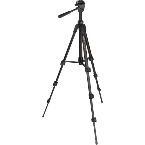 Magnus PV-3430 Photo Tripod with 3-Way Pan and Tilt Head