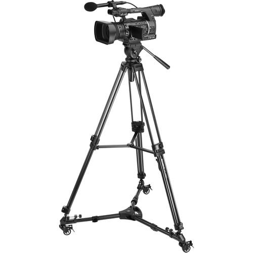 Magnus VT-4000 Video Tripod System & Universal Tripod Dolly Kit
