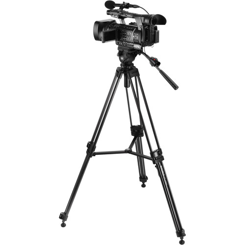 Magnus VT-4000 Tripod & Zoom Controller Kit for Canon, Panasonic, Sony