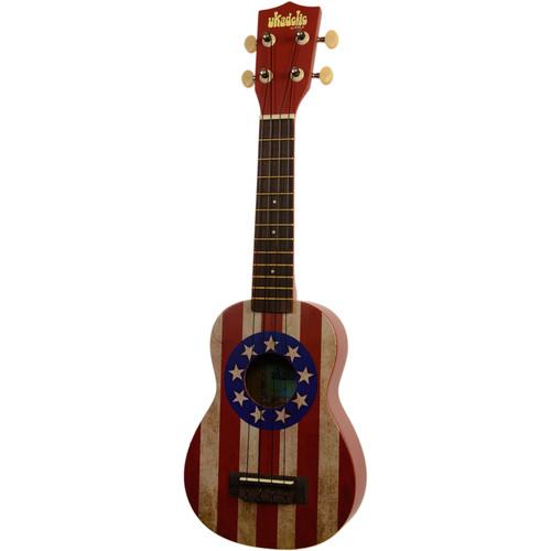 MAKALA MK-SUSA USA Flag Ukulele