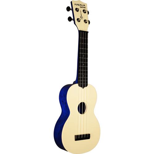 MAKALA MK-SWS/BL Waterman Soprano Ukulele (Swirl Blue)