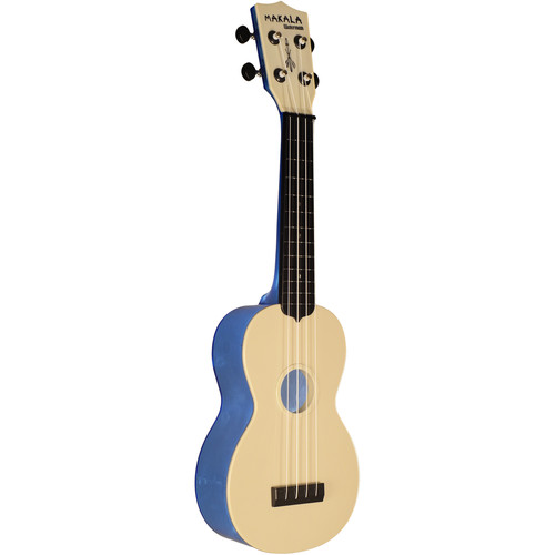 MAKALA MK-SWT/BL Waterman Soprano Ukulele (Translucent Blue)