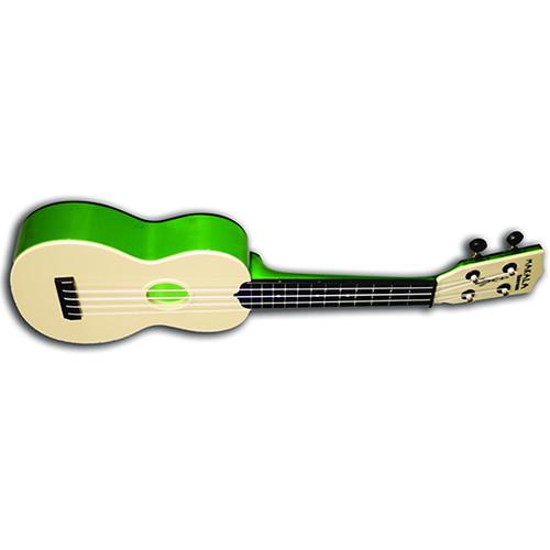 MAKALA MK-SWT/GN Waterman Soprano Ukulele (Translucent Green)