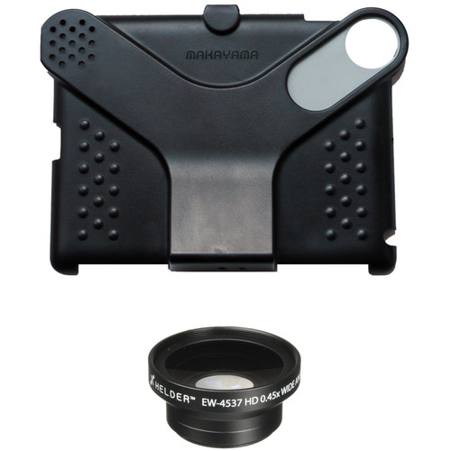 Makayama Movie Mount Kit with Wide Angle Lens for iPad 2nd, 3rd, & 4th Gen