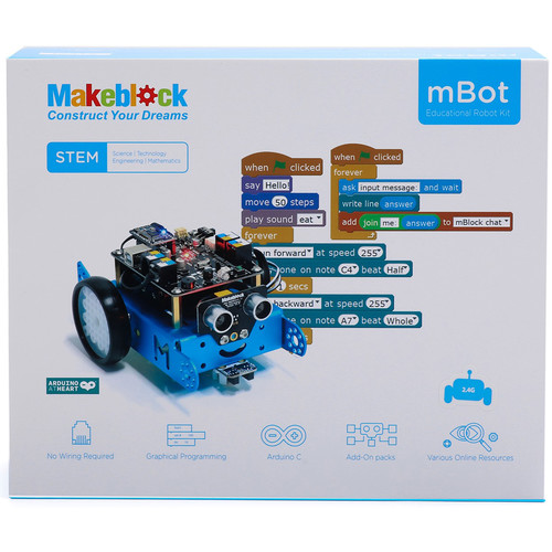 Makeblock mBot V1.1-Blue (Bluetooth) Version Programmable Robott Kit