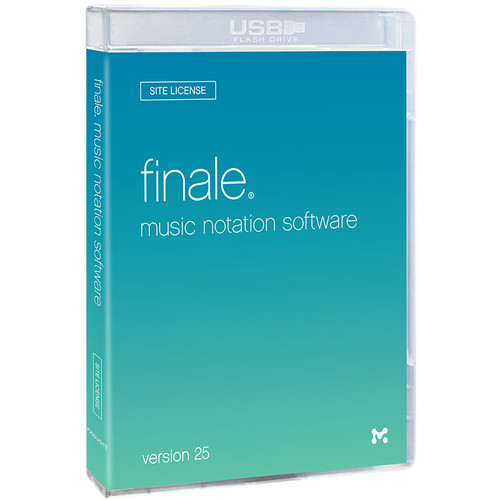 MakeMusic Finale 25 Site License 5-29 Users - Notation Software (Boxed)