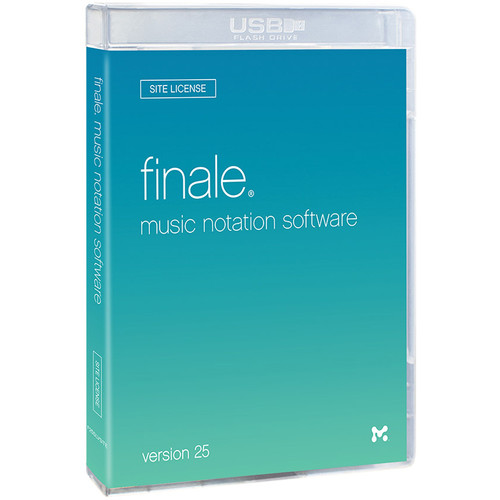 MakeMusic Finale 25 Site License 30+ Users - Notation Software (Boxed)