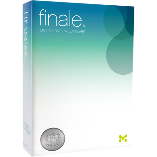 MakeMusic Finale 25 Upgrade - Notation Software (Download)
