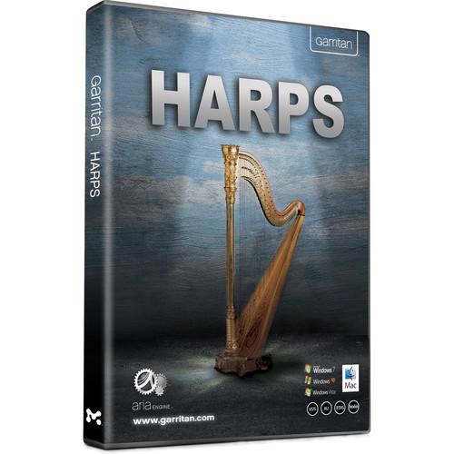 GARRITAN Harps - Virtual Instrument (Boxed)