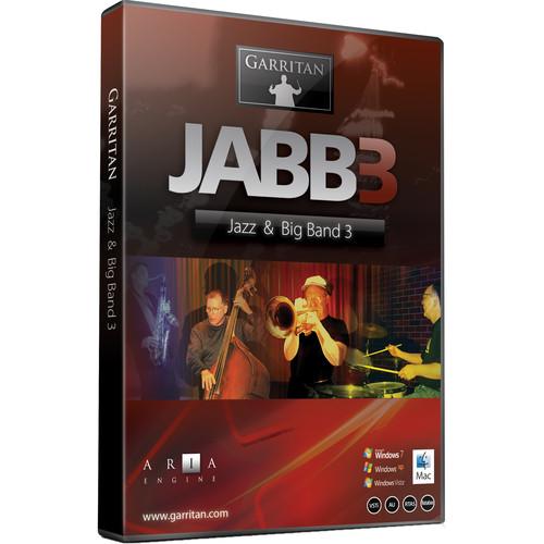 GARRITAN Jazz and Big Band 3 - Virtual Instrument (Boxed)