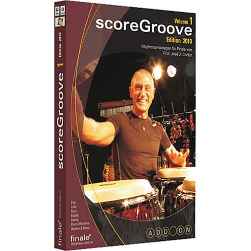 MakeMusic scoreGroove Volume 1