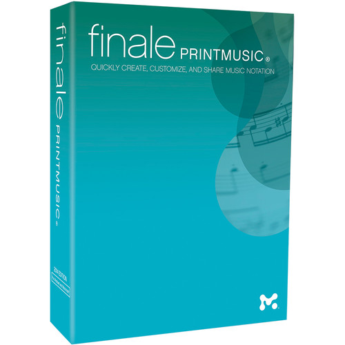 MakeMusic Finale PrintMusic - Notation and Composition Software (Download)