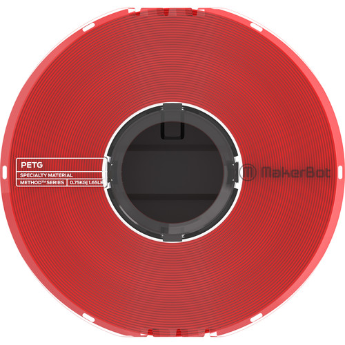 MakerBot 1.75mm PETG Specialty Filament (Red)