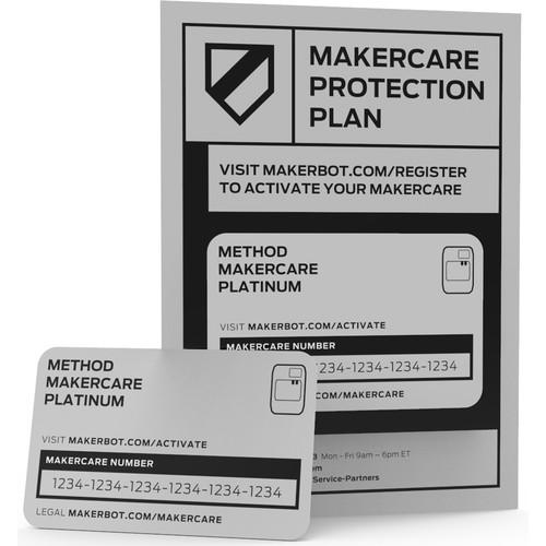 MakerBot METHOD MakerCare Platinum Protection Plan (3-Year)