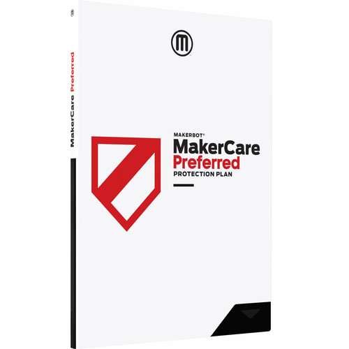 MakerBot 1-Year MakerCare Preferred Protection Plan for the Replicator+ 3D Printer