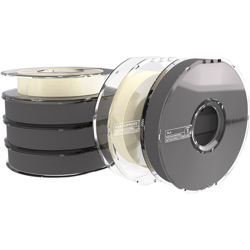 MakerBot PLA Filament 6-Pack (Cool Gray)