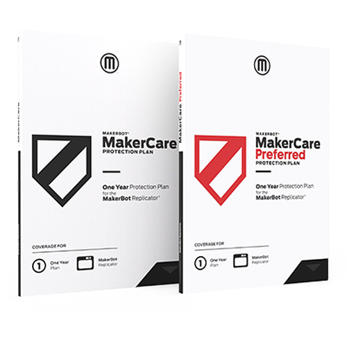 MakerBot Makercare Preferred Protection Plan for Replicator (1 Year Renewal)