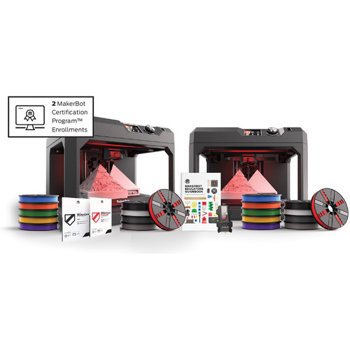 MakerBot Classroom Bundle with 1-Year MakerCare Protection Plan