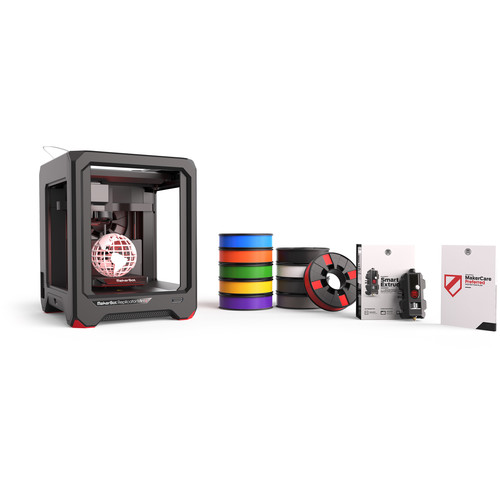 MakerBot Mini+ Essentials Pack with 2-Year MakerCare Preferred Protection Plan
