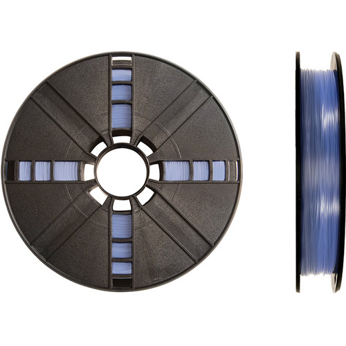 MakerBot 1.75mm PLA Filament (Large Spool, 2 lb, Translucent Blue)