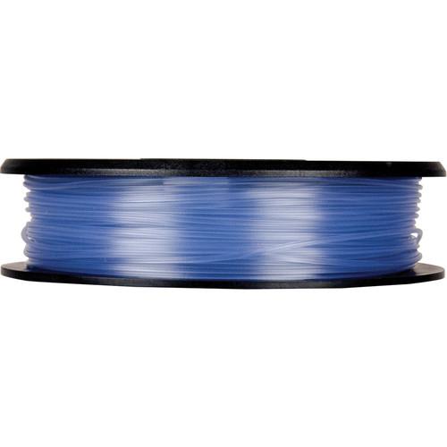 MakerBot 1.75mm PLA Filament (Small Spool, 0.5 lb, Translucent Blue)