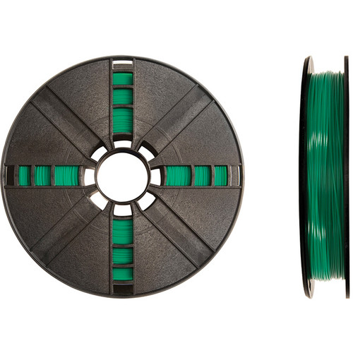 MakerBot 1.75mm PLA Filament (Large Spool, 2 lb, Translucent Green)