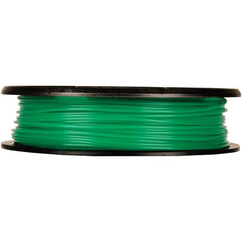 MakerBot 1.75mm PLA Filament (Small Spool, 0.5 lb, Translucent Green)