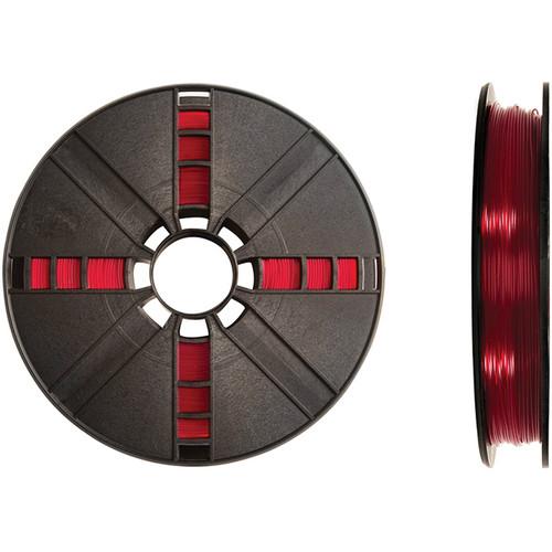 MakerBot 1.75mm PLA Filament (Large Spool, 2 lb, Translucent Red)