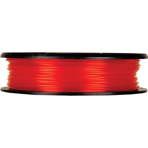 MakerBot 1.75mm PLA Filament (Small Spool, 0.5 lb, Translucent Orange)