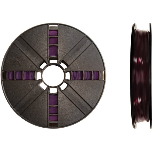 MakerBot 1.75mm PLA Filament (Large Spool, 2 lb, Translucent Purple)