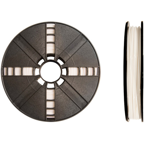 MakerBot 1.75mm PLA Filament (Large Spool, 2 lb, True White)
