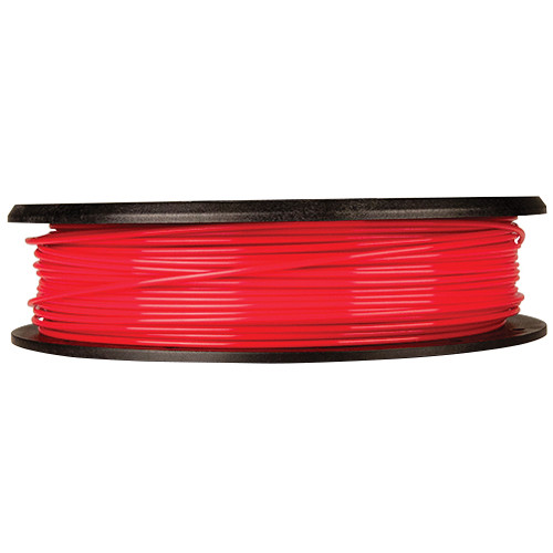 MakerBot 1.75mm PLA Filament (Small Spool, 0.5 lb, True Red)