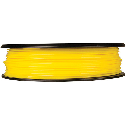 MakerBot 1.75mm PLA Filament (Small Spool, 0.5 lb, True Yellow)