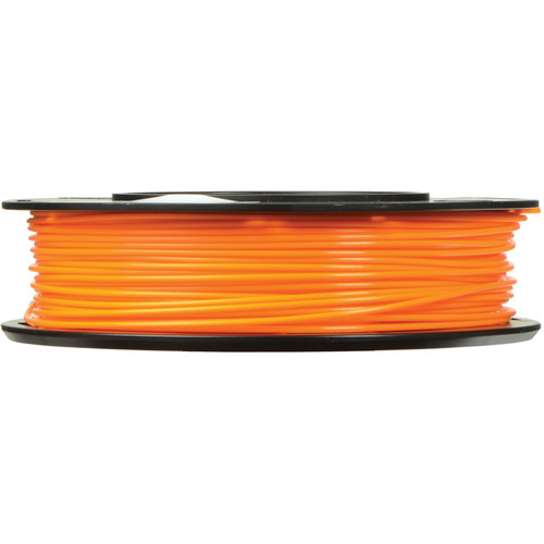 MakerBot 1.75mm PLA Filament (Small Spool, 0.5 lb, Neon Orange)