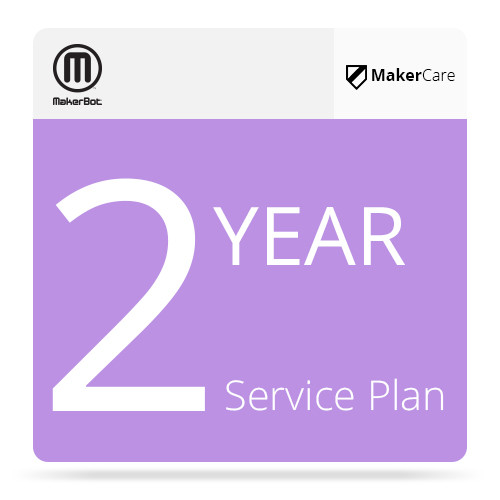 MakerBot 2-Year MakerCare Service Plan for MakerBot Replicator Desktop 3D Printer (5th Generation)