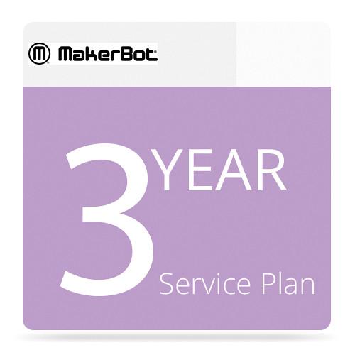 MakerBot 3-Year MakerCare Service Plan for MakerBot Digitizer Desktop 3D Scanner