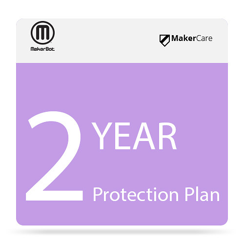 MakerBot 2-Year MakerCare Protection Plan for the Replicator Mini+ 3D Printer