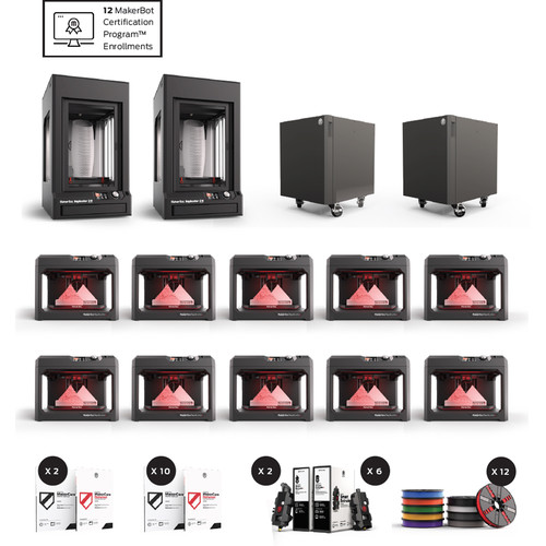 MakerBot School Bundle with 1-Year MakerCare Protection Plan