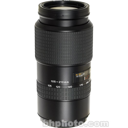Mamiya Zoom Telephoto 105-210mm f/4.5 ULD Autofocus Lens for 645AF