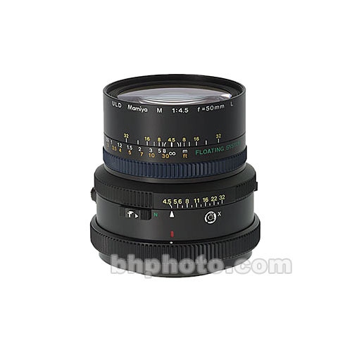 Mamiya Super Wide Angle 50mm f/4.5 ULD Lens for RZ67 Cameras