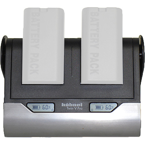 Mamiya Hahnel Twin V-Pro Dual Charger