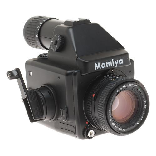 Mamiya 645E Pro Value Pack Medium Format SLR Manual Focus Camera Kit with 80mm f/2.8 Lens and 120 Film Insert