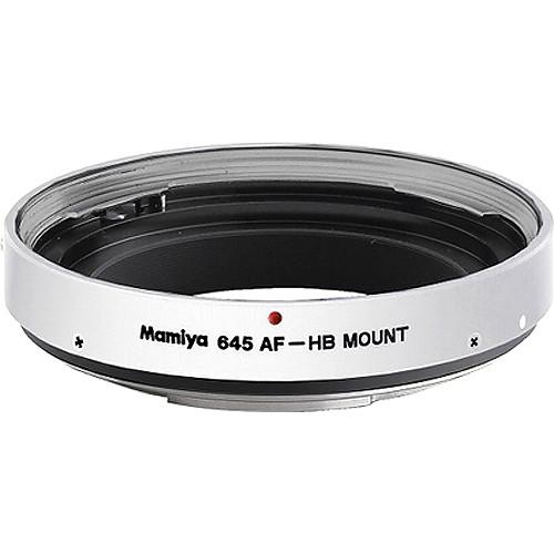 Mamiya 800-53400A Mount Adapter HBW NR405 (Silver)