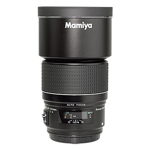 Mamiya 120mm f/4.0 AF Macro SEKOR Lens with Hood