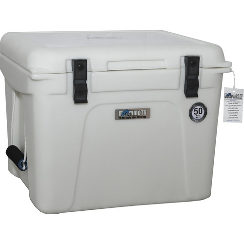 Mammoth Coolers Discovery Series 46.5 Quart MD50W Cooler (White)