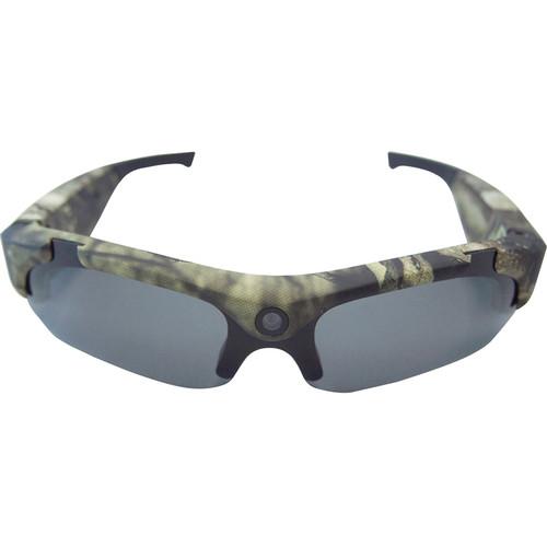 POV Action Video Cameras 480p Video Recording Sunglasses (Mossy Oak Camo)
