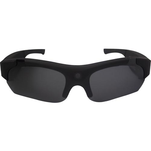 POV Action Video Cameras HD 720p Video Recording Sunglasses (Matte Black)