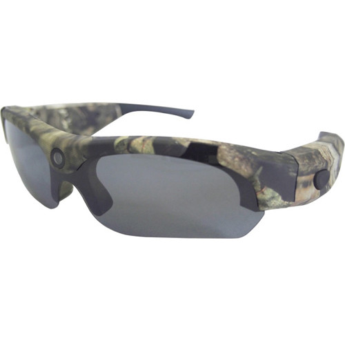 POV Action Video Cameras HD 720p Video Recording Sunglasses (Mossy Oak Camo)
